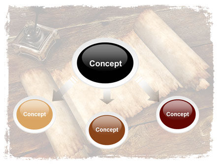 Ancient Scroll PowerPoint Template Slide 4