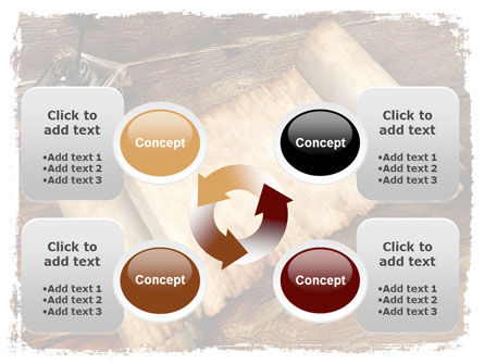 Ancient Scroll PowerPoint Template Slide 9