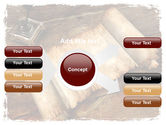Ancient Scroll PowerPoint Template#14