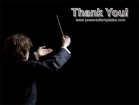 Music Conductor PowerPoint Template Slide 20