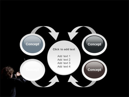 Music Conductor PowerPoint Template Slide 6