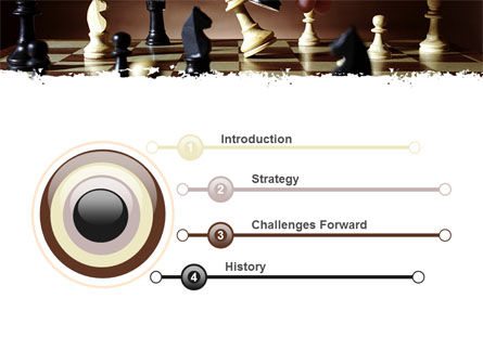Chess Tactics PowerPoint Template, Slide 3, 06544, Business Concepts — PoweredTemplate.com