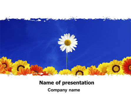 Be Diverse PowerPoint Template, 06547, Holiday/Special Occasion — PoweredTemplate.com
