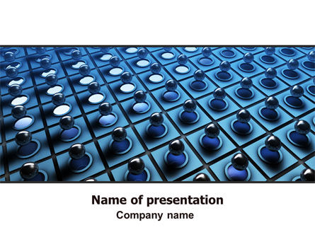 Membrane PowerPoint Template, 06548, Consulting — PoweredTemplate.com