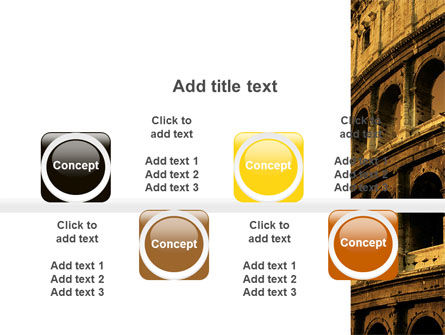 Colosseum PowerPoint Template Slide 18