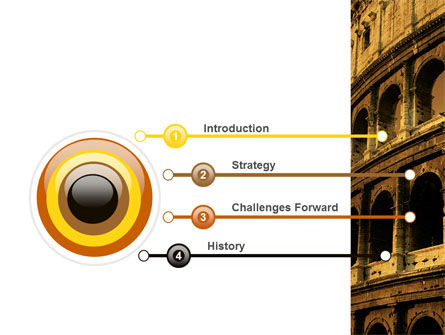 Colosseum PowerPoint Template Slide 3