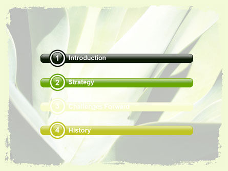 Lily Petals PowerPoint Template, Slide 3, 06551, Nature & Environment — PoweredTemplate.com