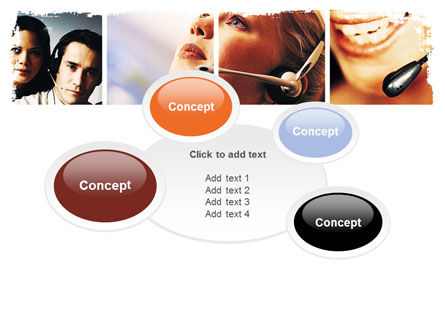 Hands Free Phone PowerPoint Template Slide 16