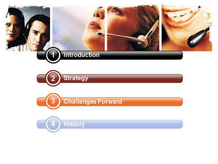 Hands Free Phone PowerPoint Template Slide 3
