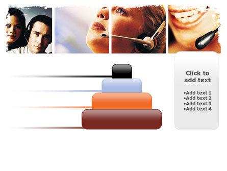 Hands Free Phone PowerPoint Template Slide 8