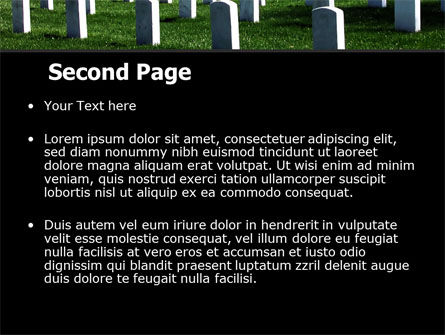 Cemetery PowerPoint Template Slide 2