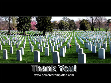 Cemetery PowerPoint Template Slide 20