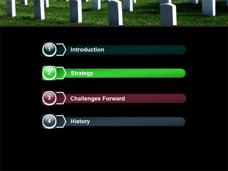 Cemetery PowerPoint Template, Slide 3, 06555, Holiday/Special Occasion — PoweredTemplate.com