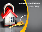 Financial/Accounting: Turnkey House PowerPoint Template #06556