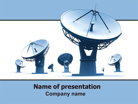 Telecommunication: Feelers Free PowerPoint Template #06559