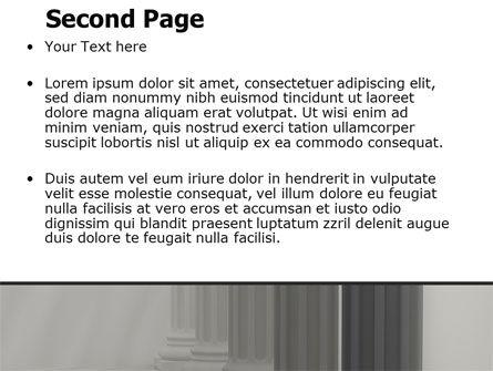 Colonnade PowerPoint Template Slide 2