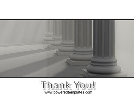 Colonnade PowerPoint Template Slide 20