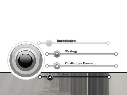 Colonnade PowerPoint Template Slide 3