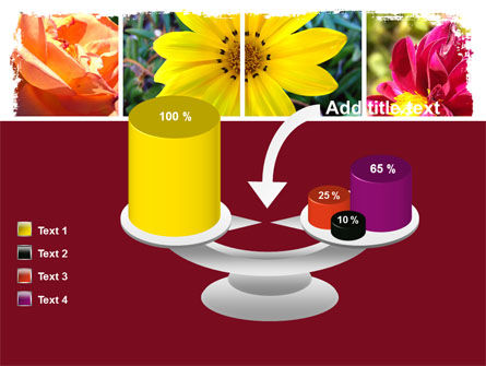 Garden Flowers PowerPoint Template Slide 10