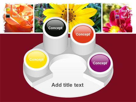 Garden Flowers PowerPoint Template Slide 12