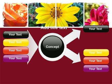 Garden Flowers PowerPoint Template Slide 14