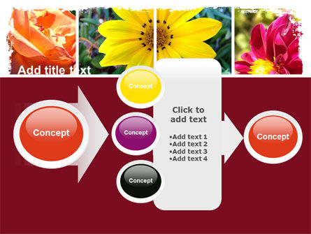 Garden Flowers PowerPoint Template Slide 17