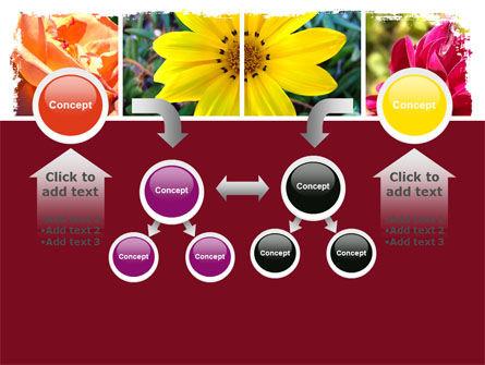Garden Flowers PowerPoint Template Slide 19