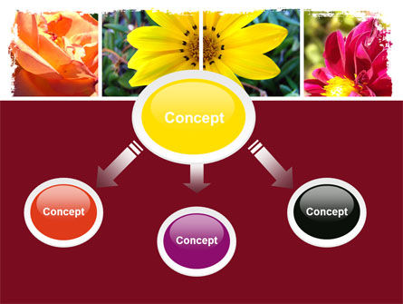 Garden Flowers PowerPoint Template Slide 4