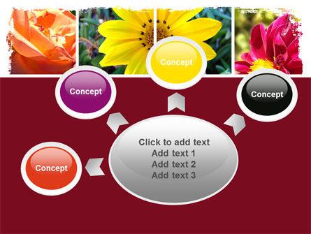 Garden Flowers PowerPoint Template Slide 7