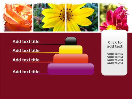Garden Flowers PowerPoint Template Slide 8