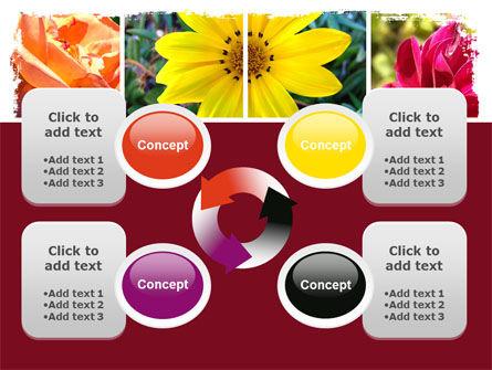 Garden Flowers PowerPoint Template Slide 9