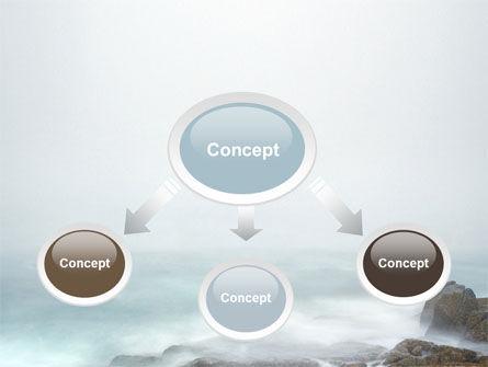 Misty Shore PowerPoint Template, Slide 4, 06564, Nature & Environment — PoweredTemplate.com