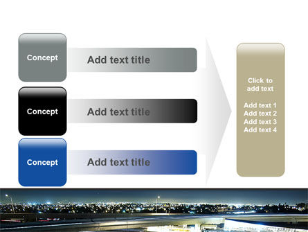 Junction On Highway PowerPoint Template Slide 12