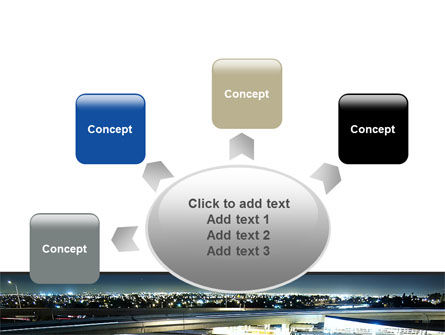 Junction On Highway PowerPoint Template Slide 7