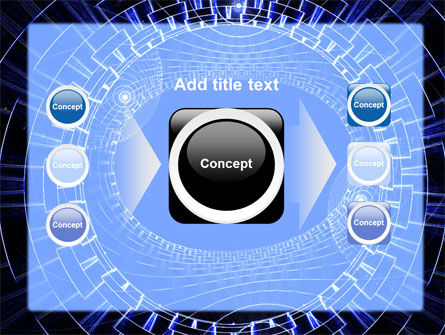 Fantasy Blue Design PowerPoint Template Slide 17