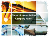 Careers/Industry: Unlocking Dreams PowerPoint Template #06568