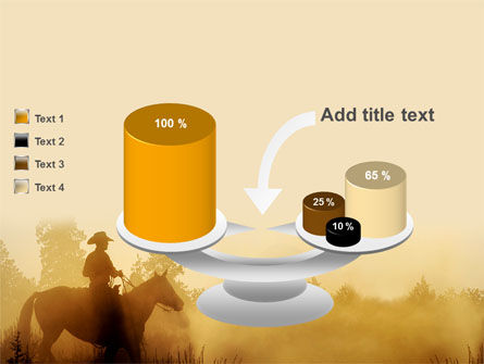 Cowboy Rider PowerPoint Template Slide 10