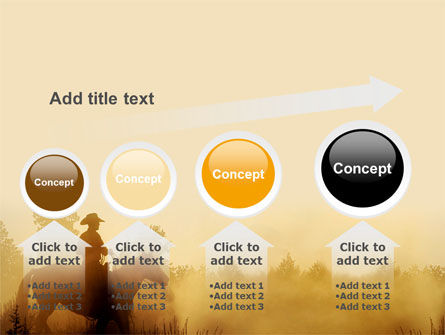 Cowboy Rider PowerPoint Template Slide 13