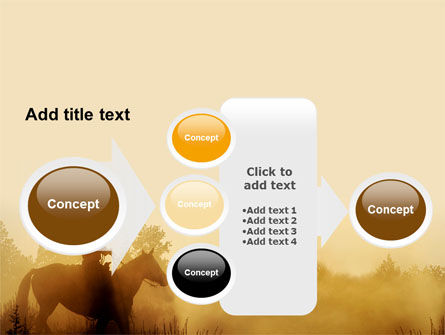 Cowboy Rider PowerPoint Template Slide 17