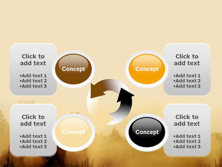 Cowboy Rider PowerPoint Template Slide 9