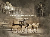 Art & Entertainment: Vienna and Strauss PowerPoint Template #06574