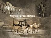 Art & Entertainment: ウィーンとストラウス - PowerPointテンプレート #06574