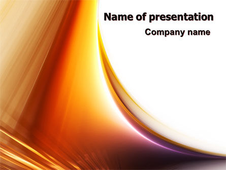 Abstract Gradient PowerPoint Template