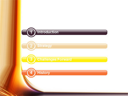 Abstract Gradient PowerPoint Template Slide 3