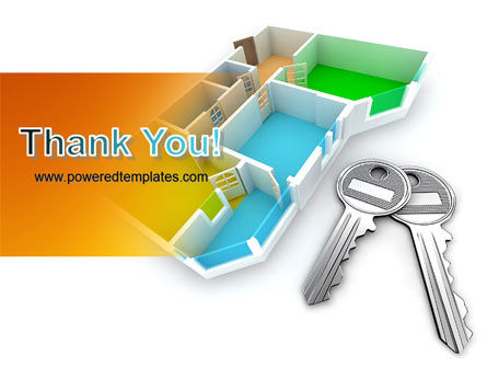 Apartment Keys PowerPoint Template Slide 20
