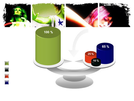 Neon Girl PowerPoint Template Slide 10
