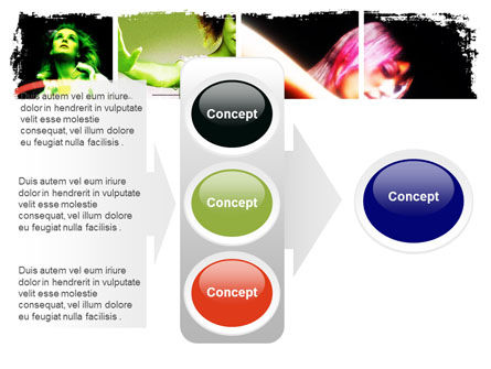 Neon Girl PowerPoint Template Slide 11