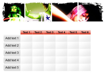 Neon Girl PowerPoint Template Slide 15