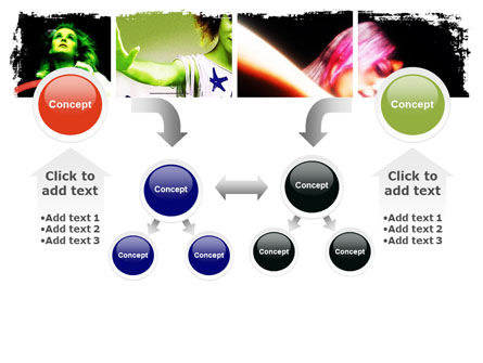 Neon Girl PowerPoint Template Slide 19