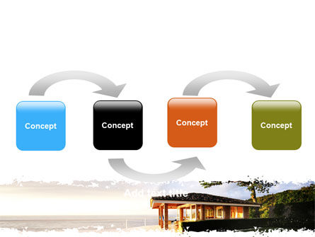 Modern Cottage PowerPoint Template, Slide 4, 06579, Construction — PoweredTemplate.com